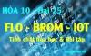 Tính chất hóa học của Flo (F) Brom (Br) iot, bài tập về Flo Brom Iot - hóa 10 bài 25